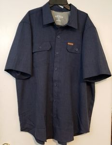 Orvis classic Collection blue button XL shirt